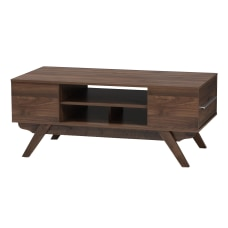 Baxton Studio Patrick Walnut Coffee Table