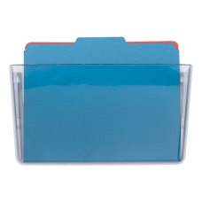 OIC Single Pocket Wall Files Letter