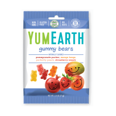 Yummy Earth Gummy Bears 25 Oz