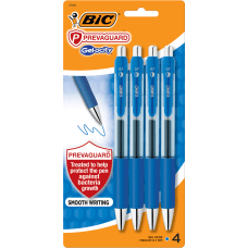 BIC Gelocity Prevaguard Gel Pens With