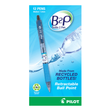 Pilot B2P Ballpoint Pens Medium Point