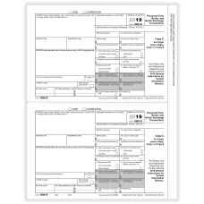 ComplyRight 1099 B Tax Forms Laser