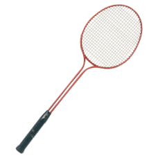 Champion Sports Badminton Racket Blue Nylon