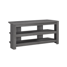Monarch Specialties TV Stand 3 Shelf