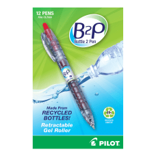 Pilot BeGreen B2P Fine Point Gel