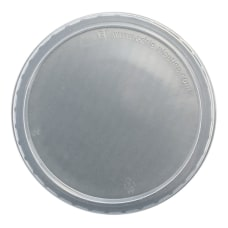 Edris Plastics Flat Deli Lids 8