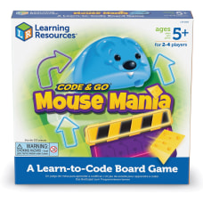 Learning Resources Code Go Mouse Mania