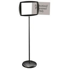 MasterVision Easy Clean Adjustable Sign Stand