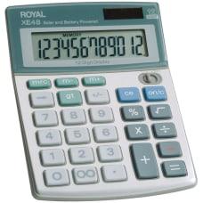 Royal XE 48 Angled Display Calculator