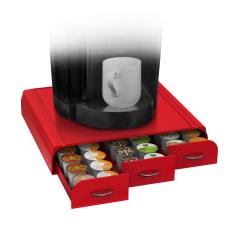 Mind Reader Coffee Pod Triple Storage