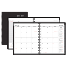 Office Depot WeeklyMonthly Academic Planner Vertical