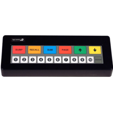 Logic Controls KB1700B BK RJRJ POS