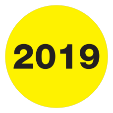 Office Depot Brand 2019 Year Labels