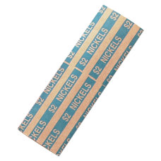 PAP R Flat Coin Wrappers Total