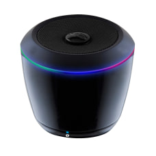 iLive Bluetooth Can Speaker With LEDs