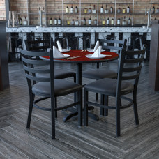 Flash Furniture Round Laminate Table Set