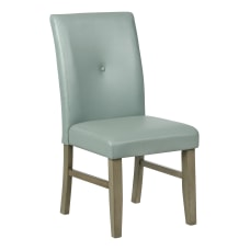 Powell Brenter Side Chair Driftwood GraySky
