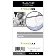 Day Runner Monthly Planner Refill 3