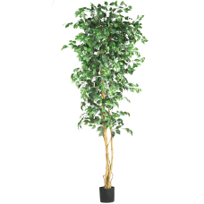 Nearly Natural 7H Silk Ficus Tree