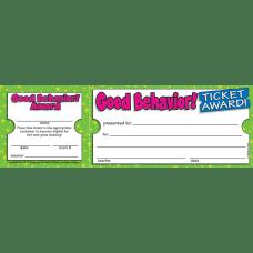 Scholastic Ticket Awards Good Behavior 8