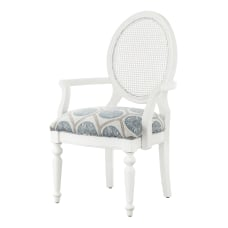 Powell Chaim Accent Chair WhiteGreenBeige