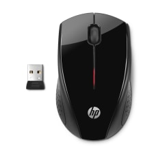 HP X3000 Wireless Optical Mouse BlackMetallic