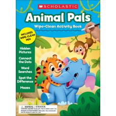 Scholastic Animal Pals Wipe Clean Activity