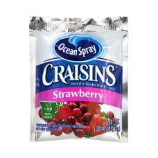 OCEAN SPRAY Craisins Strawberry Flavored Dried