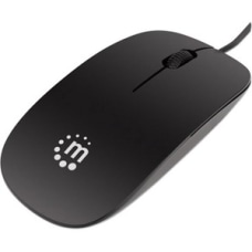 Manhattan USB Optical Mouse Black