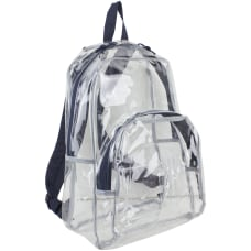 Eastsport Clear PVC Backpack Navy