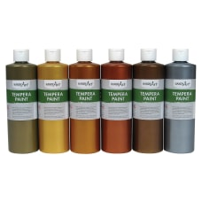Handy Art Metallic Tempera Paint 6