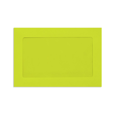 LUX Full Face Window Envelopes With