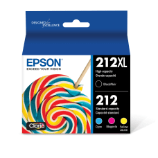 Epson Claria 212XL High Yield Ink