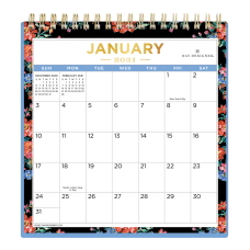 Day Designer Monthly Desk Calendar With