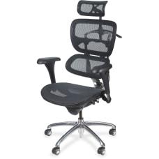 MooreCo Butterfly Chair ChromeBlack