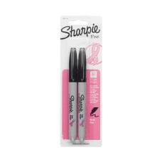 Sharpie Permanent Fine Point Markers BlackPink