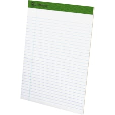 TOPS Recycled Perforated Legal Writing Pads