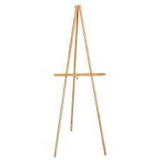 Quartet Hardwood Display Easel Natural Oak