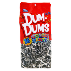 Dum Dums Black Cherry Lollipops Party
