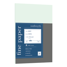 Southworth 100percent Cotton Business Paper Letter