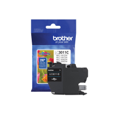 Brother LC3011C Original Ink Cartridge Single
