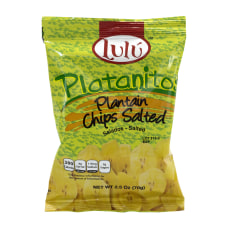 Lulu Platanitos Salted Plantain Chips 25