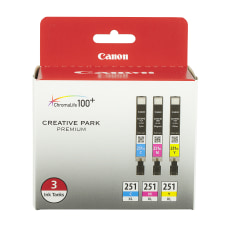 Canon 251 XL High Yield CyanMagentaYellow