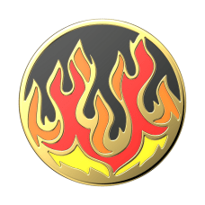 PopSocket PopGrip 1 916 Enamel Flame