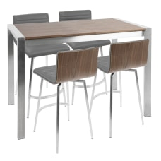 Lumisource Mason Contemporary Counter Table With
