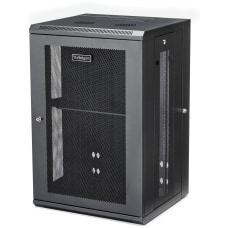 StarTechcom Wallmount Server Rack Cabinet Hinged