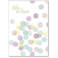 Viabella Sympathy Greeting Card Within Our