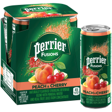 Perrier And Juice Drink Peach And