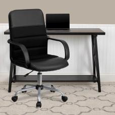 Flash Furniture LeatherSoft Mesh Mid Back