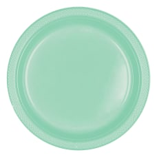 Amscan Round Plastic Plates 7 Cool